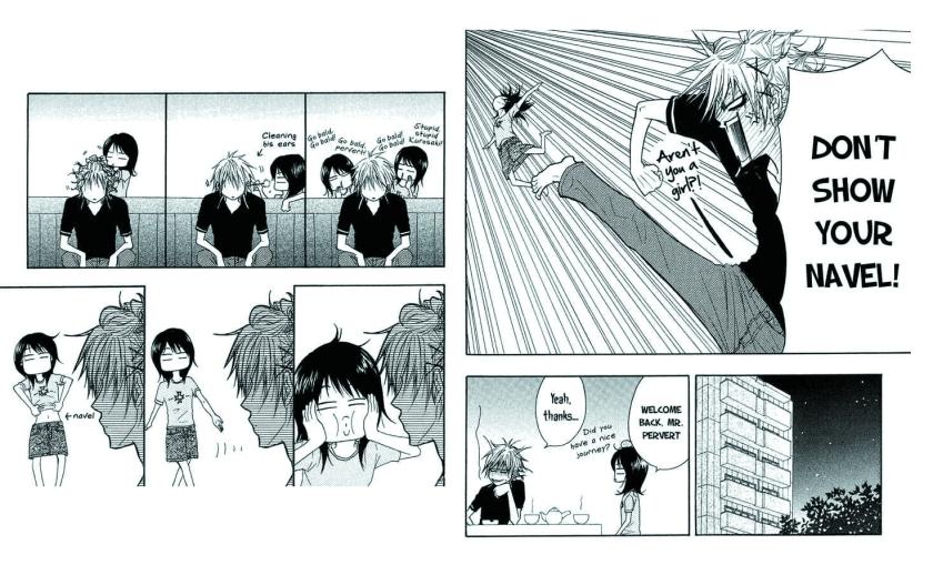 Teru y Kurosaki en un día corriente
