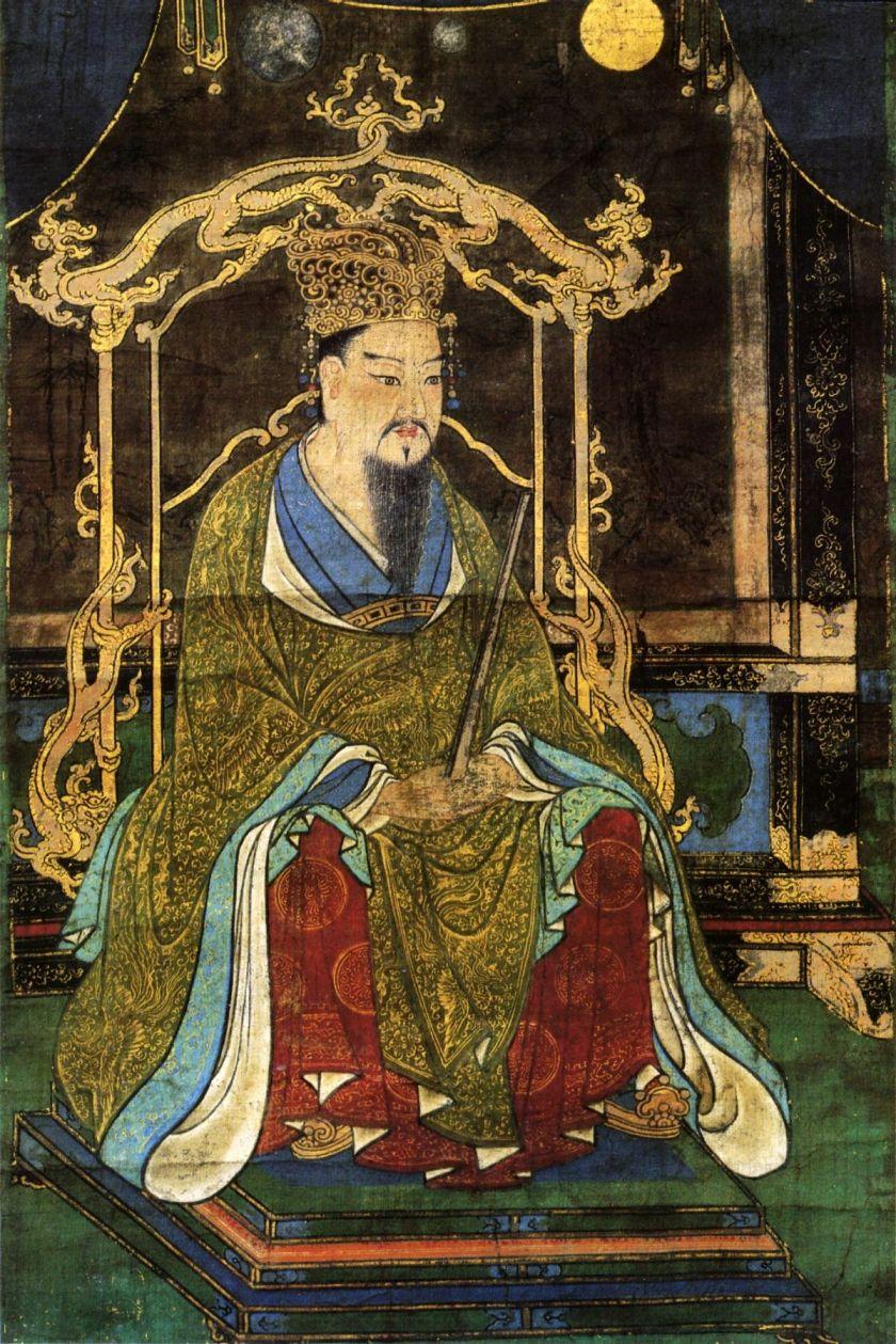 El emperador Kanmu (737-806) que trasladando la capital y corte imperiales a Heian-kyô (Kioto), inauguró la Era Heian