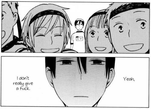 Tatsumi filosofando