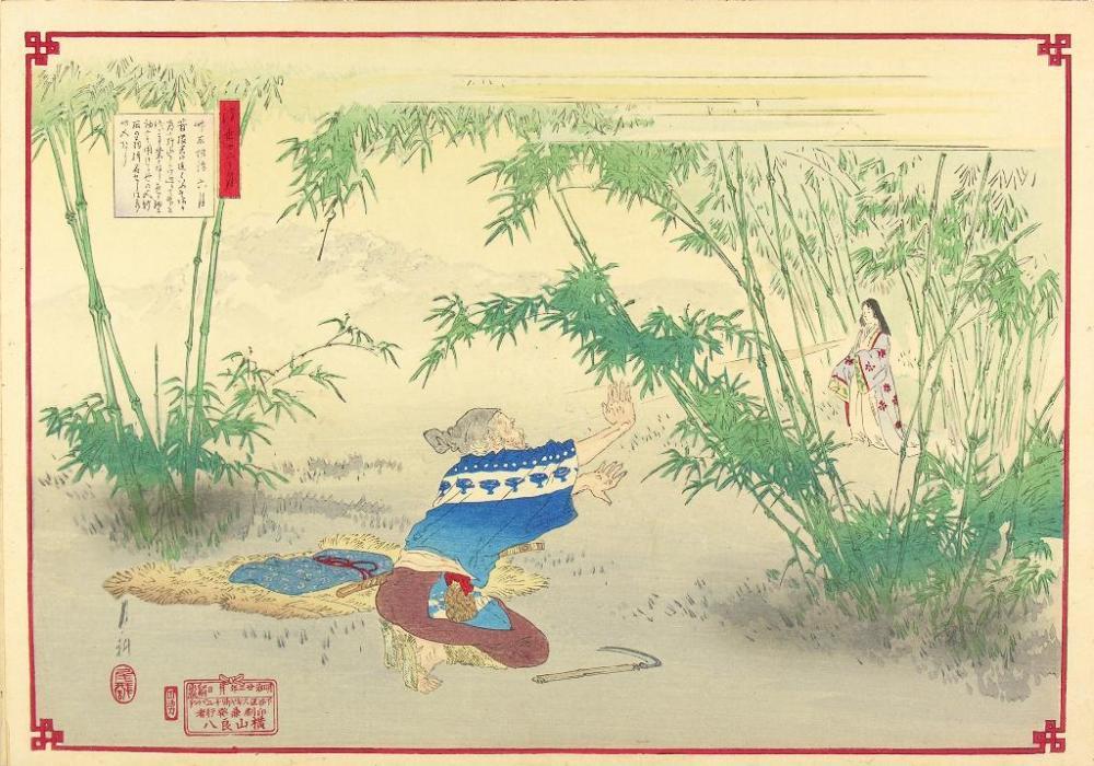 """""""Ukiyo Junikagetsu (Rokugatsu)"""" de Ogata Gekkô (1890)"""