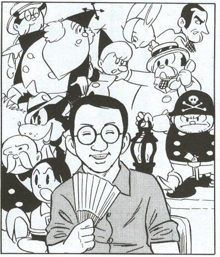 Tezuka por Tatsumi