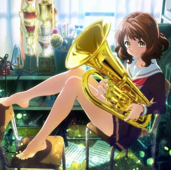 Mucho enseña las garras usted, señorita Kumiko... ¿fanservice para el personal?