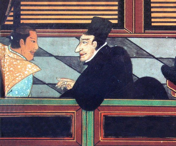 jesuit_with_japanese_nobleman_circa_1600