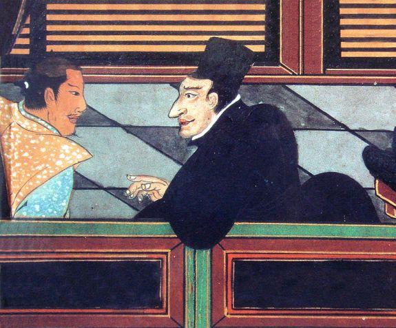 jesuit_with_japanese_nobleman_circa_1600