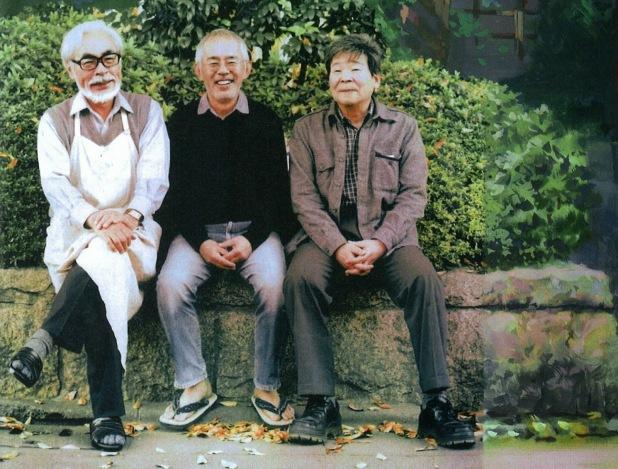 Ghibli - Miyazaki, Suzuki and Takahata